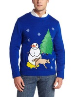 funny christmas themed sweater for dads who have it all
