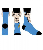 funny spock ears socks star trek stocking stuffer idea