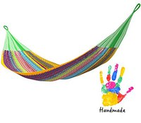 colorful handmade Mexican hammock gift for your niece